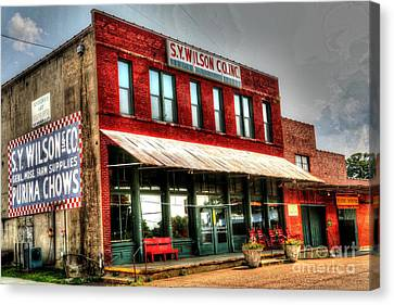 S.y. Wilson And Company In Arlington, Tn Canvas Print