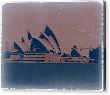 Sydney Australia Canvas Print by Naxart Studio