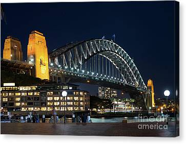 Sydney Bridge Canvas Print