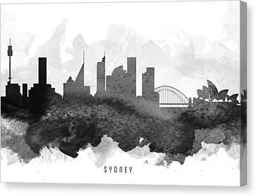 Sydney Cityscape 11 Canvas Print by Aged Pixel