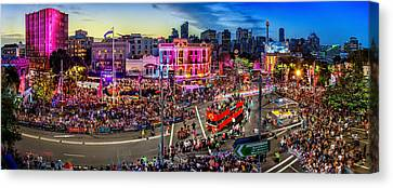 Sydney Gay And Lesbian Mardi Gras Parade Canvas Print