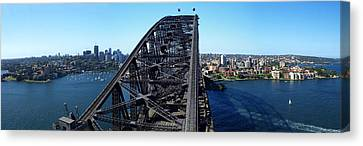 Sydney Harbour Bridge Canvas Print by Melanie Viola