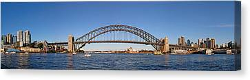 Sydney Harbour Panorama Canvas Print by Nicholas Blackwell