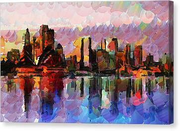 Sydney Here I Come Canvas Print