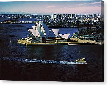 Sydney Opera House Canvas Print by Gary Wonning