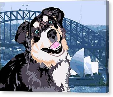 Sydney Canvas Print by Sarah Crumpler
