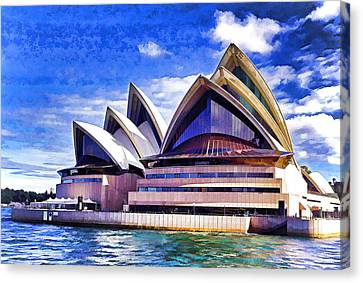 Sydney Symbol Canvas Print by Dennis Cox WorldViews