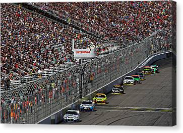 Sylvania 300 Chase Canvas Print by Juergen Roth