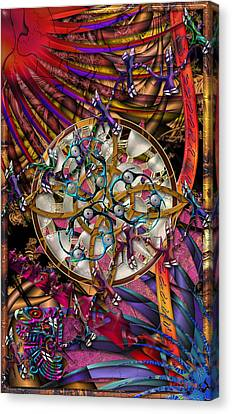 Symagery 28 Canvas Print by Kenneth Armand Johnson