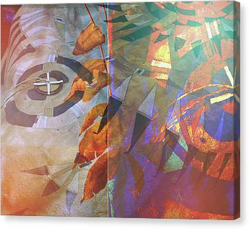 Symbolism No. 5 Canvas Print by Toni Hopper
