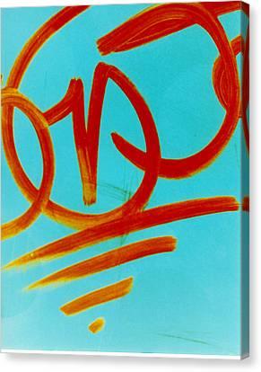 Symbols Canvas Print by David Rivas