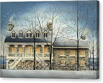 Symmes' Inn Canvas Print by Catherine Holman