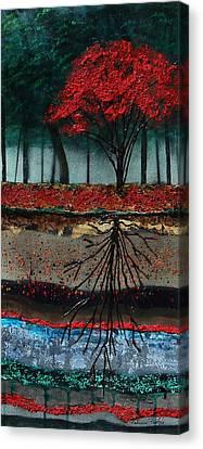 Symmetry Canvas Print by Patricia Pasbrig