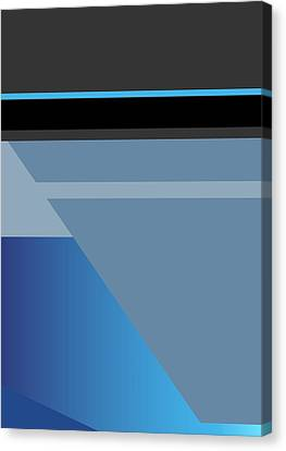 Symphony In Blue - Movement 1 - 1 Canvas Print
