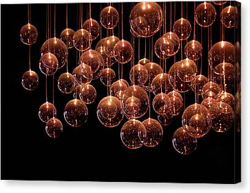Symphony In The Dark Canvas Print by Evelina Kremsdorf