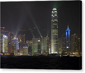 Pyrotechnic Canvas Print - Symphony Of Lights by Phil Stone