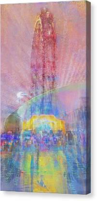 Symphony Reflection Canvas Print
