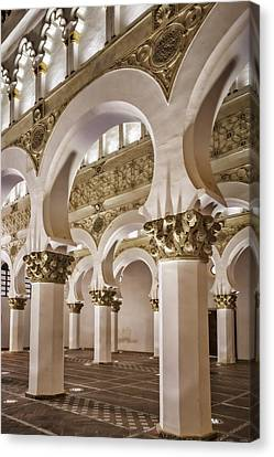 Synagogue Of St Mary The White Canvas Print