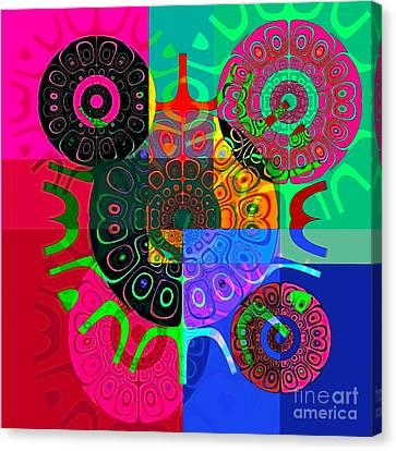 Synced Canvas Print by Raymel Garcia