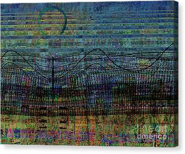 Synchronicity Canvas Print by Andy  Mercer