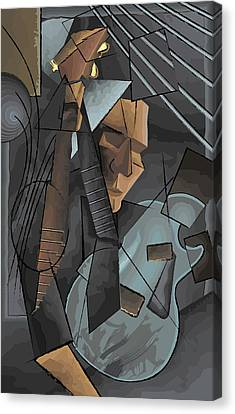 Syncopation Canvas Print