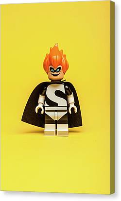 Minifig Canvas Print - Syndrome by Samuel Whitton