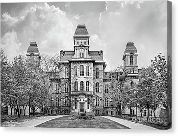 Syracuse University Hall Of Languages Canvas Print by University Icons