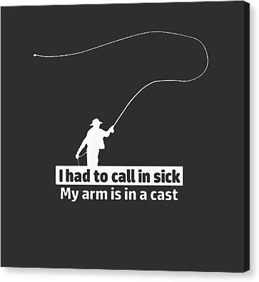 T Had To Call Stick Canvas Print