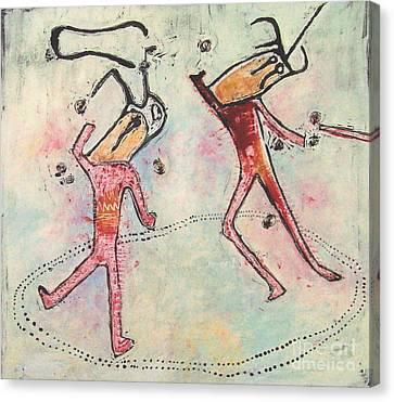 T. M. 4        No. 2 Of 2 Canvas Print