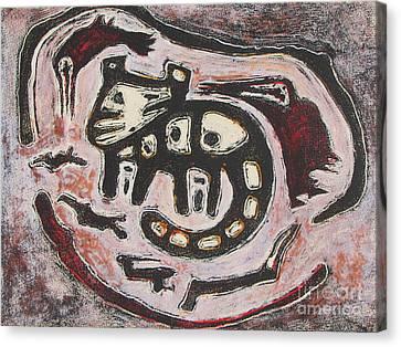 T. M. 7    No. 1 Of 2 Canvas Print