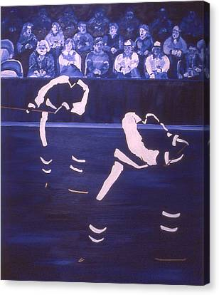 T M L Canvas Print by Ken  Yackel