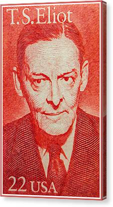 T. S. Eliot Canvas Print by Lanjee Chee