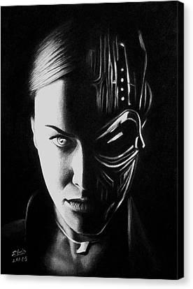 T-X Canvas Print