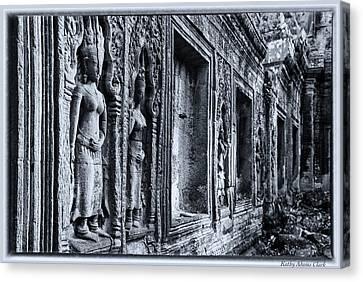 Ta Phrom Cambodia Canvas Print