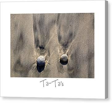 Ta-ta's Canvas Print by Peter Tellone
