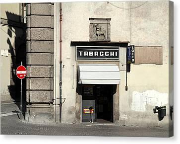 Tabacchi Canvas Print by Valentino Visentini