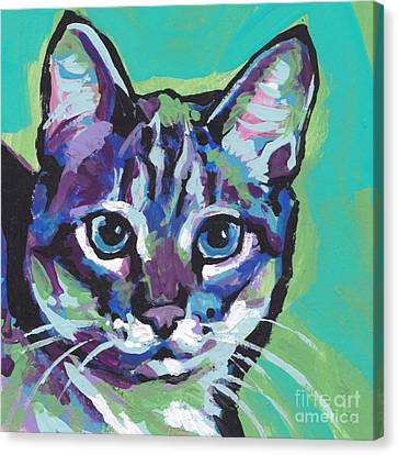 Tabby Chic Canvas Print by Lea S