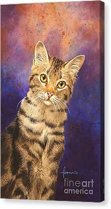 Tabby Canvas Print