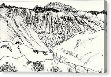 Tabernas Canvas Print by Chani Demuijlder
