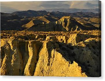 Tabernas Desert Spain Canvas Print