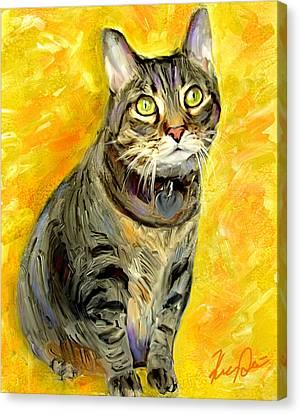 Tabitha Canvas Print by Karen Derrico