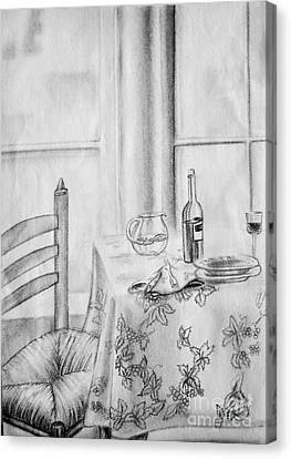 Table For One, 2005. Canvas Print
