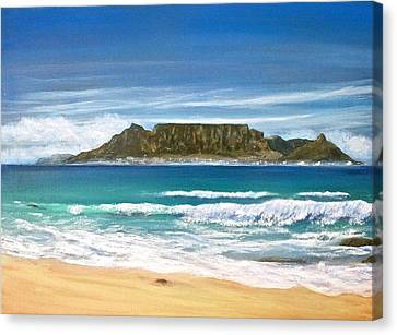 Table Mountain Canvas Print by Heather Matthews