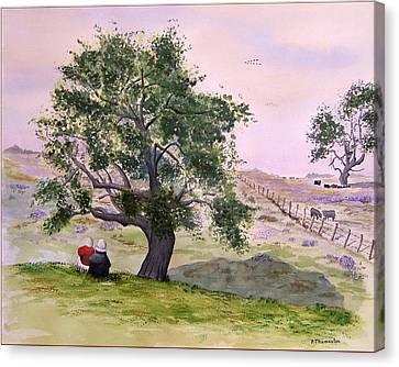 Table Moutain Canvas Print by Robert Thomaston