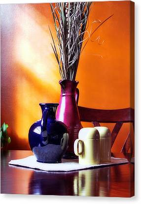 Tabletop Canvas Print by Peter Chilelli