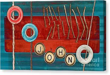 Tablo - 01b - John Canvas Print