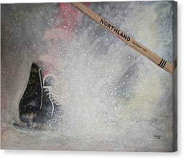 Tacks Canvas Print by Ron  Genest