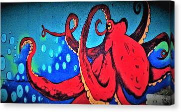 Tacoma Octopus  Canvas Print