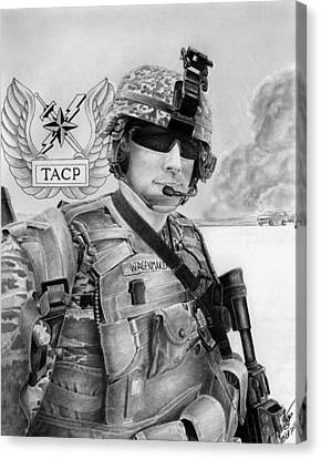 Tacp Canvas Print by Lyle Brown