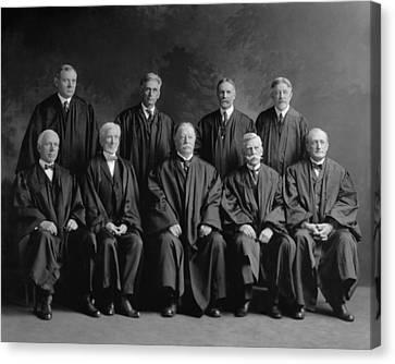 Taft Court. United States Supreme Court Canvas Print by Everett